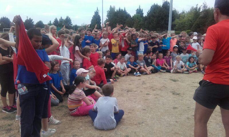 Journée Athlétisme UGSEL pour les CE2