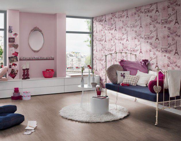 Décoration Des Chambres Avec Le Papier Peint Guide Déco