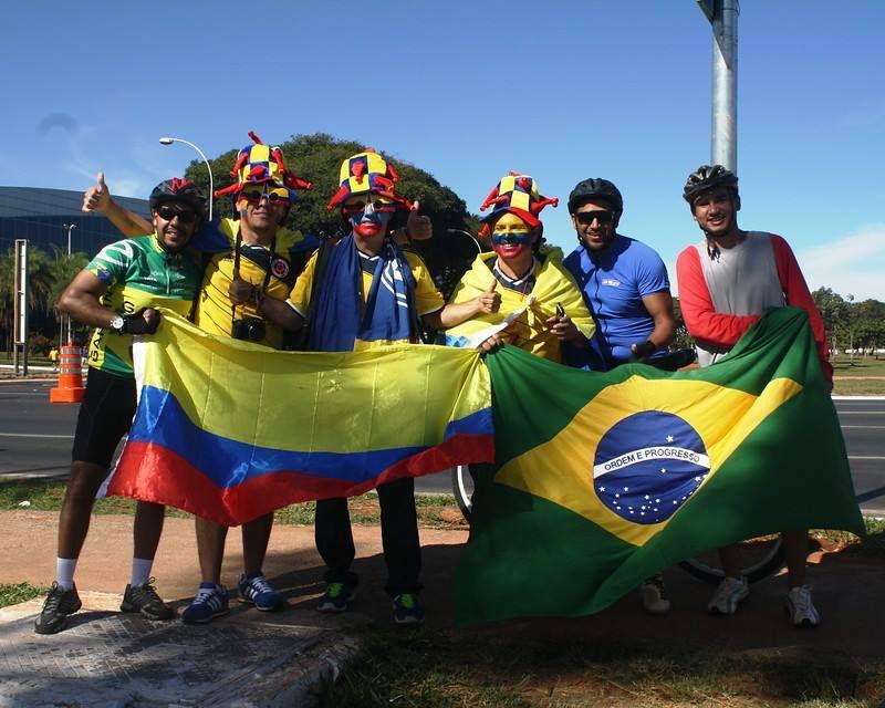 Copa mundial 2014 en Brazil: VIVA COLOMBIA, viva millonarios jajajajajajajajaj