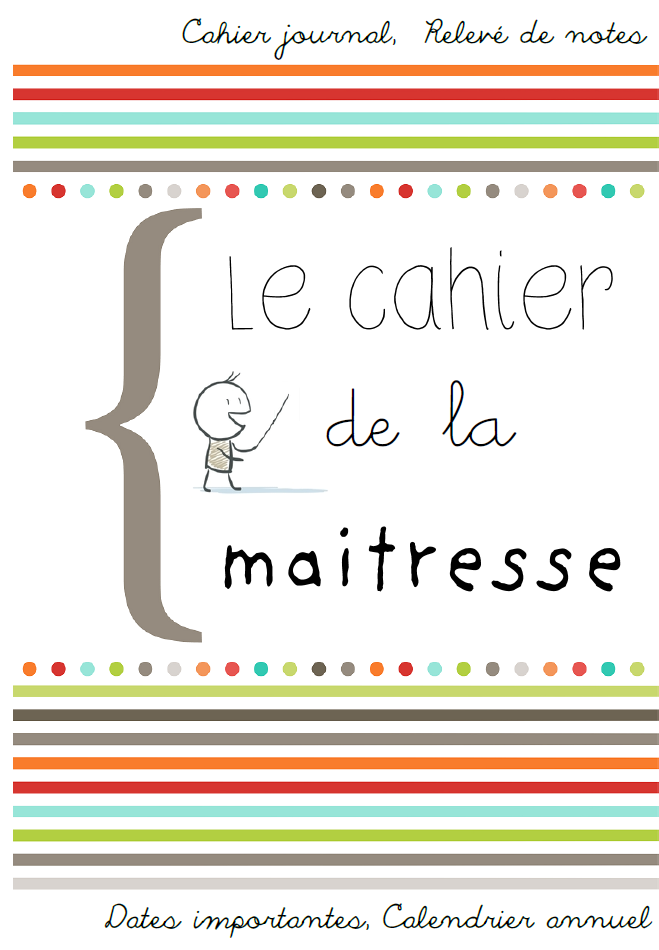 Cahier journal primaire