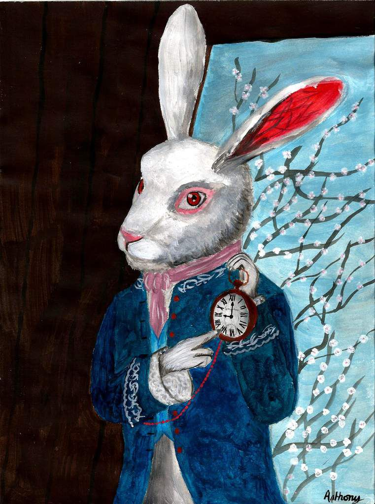 Le Lapin Blanc d'Alice au Pays Des Merveilles / The White Rabbit of Alice in Wonderland