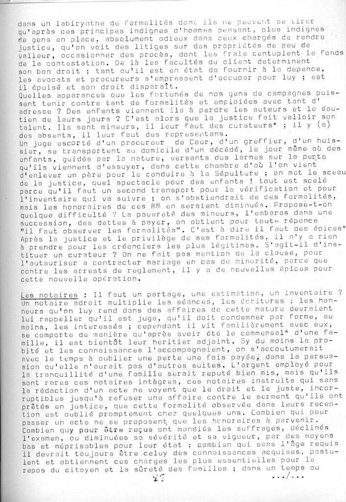 Cahier de la Poterne n°4 : Cahier de doléances, Bossay (1)