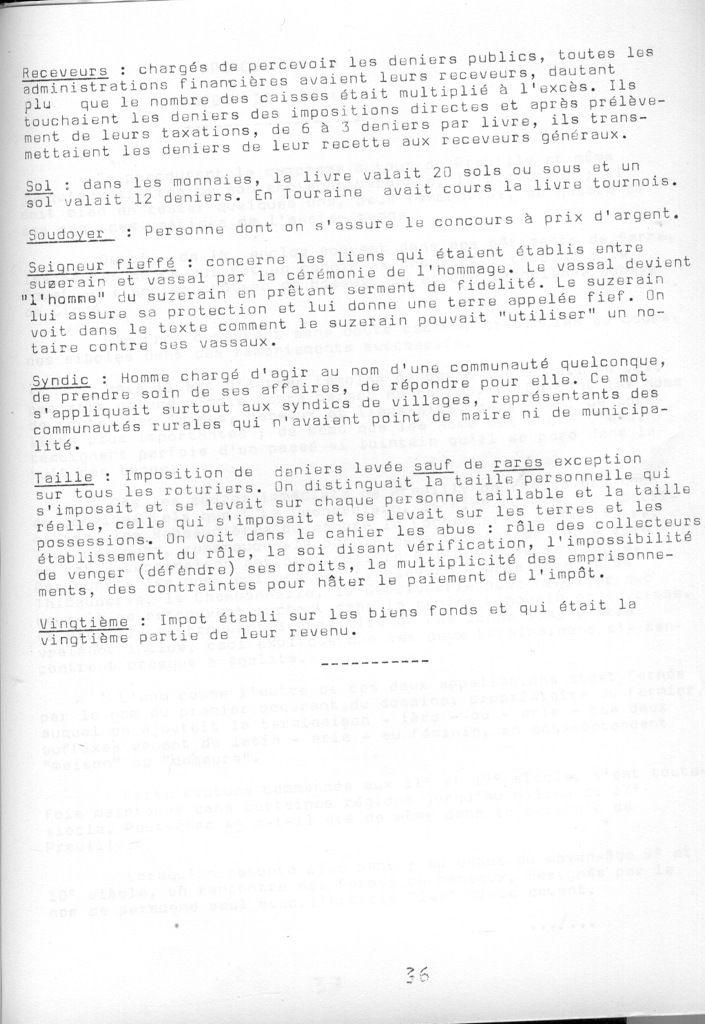 Cahier de la Poterne n°4 : Cahier de doléances, Bossay (2)