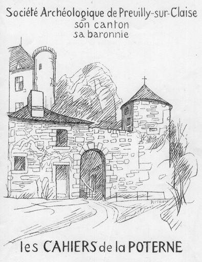 Cahier de la Poterne n°5 (1972) : Sommaire