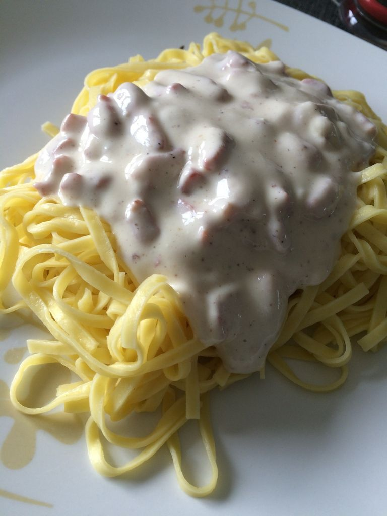 Pâtes carbonarit