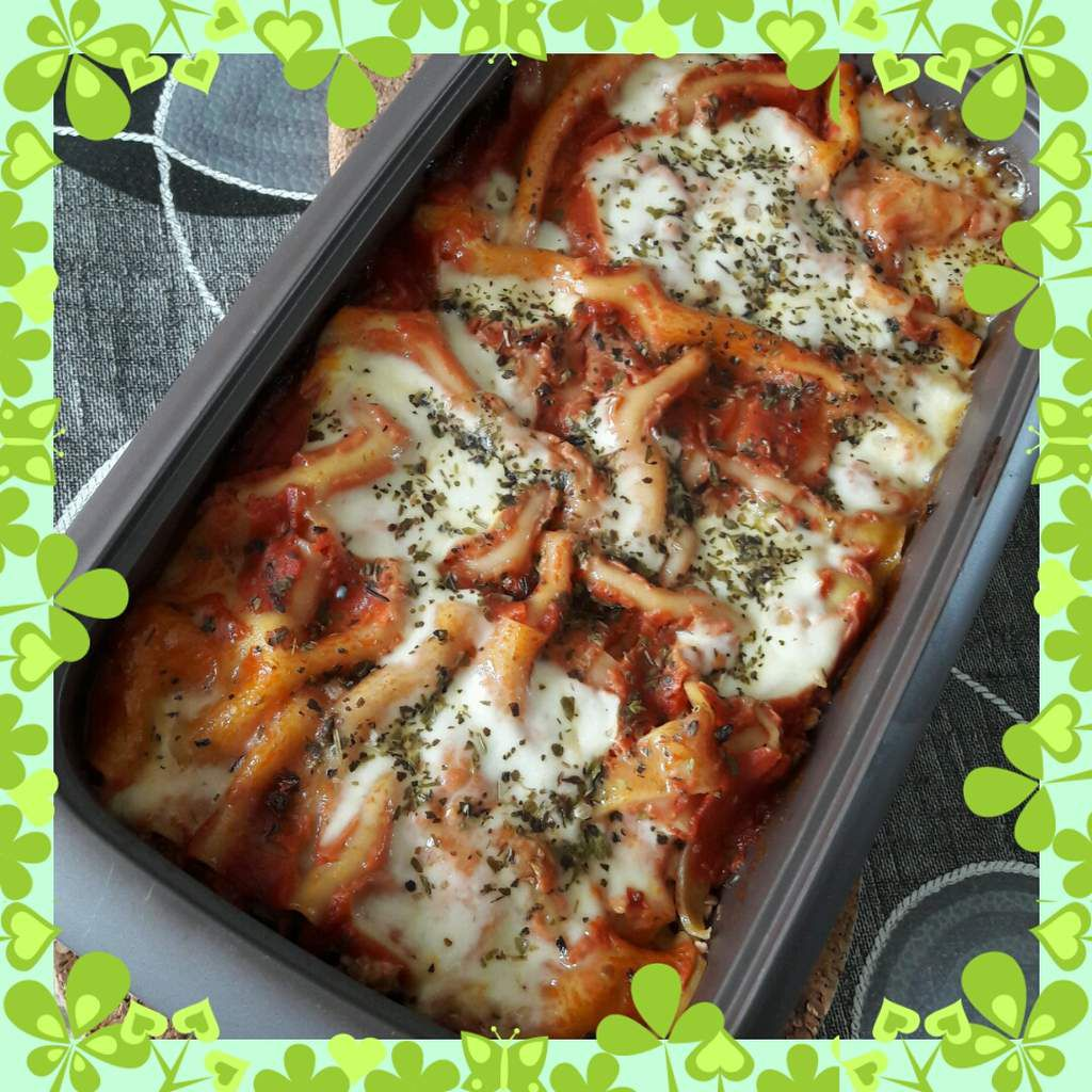 Lasagnes courgettes aubergines