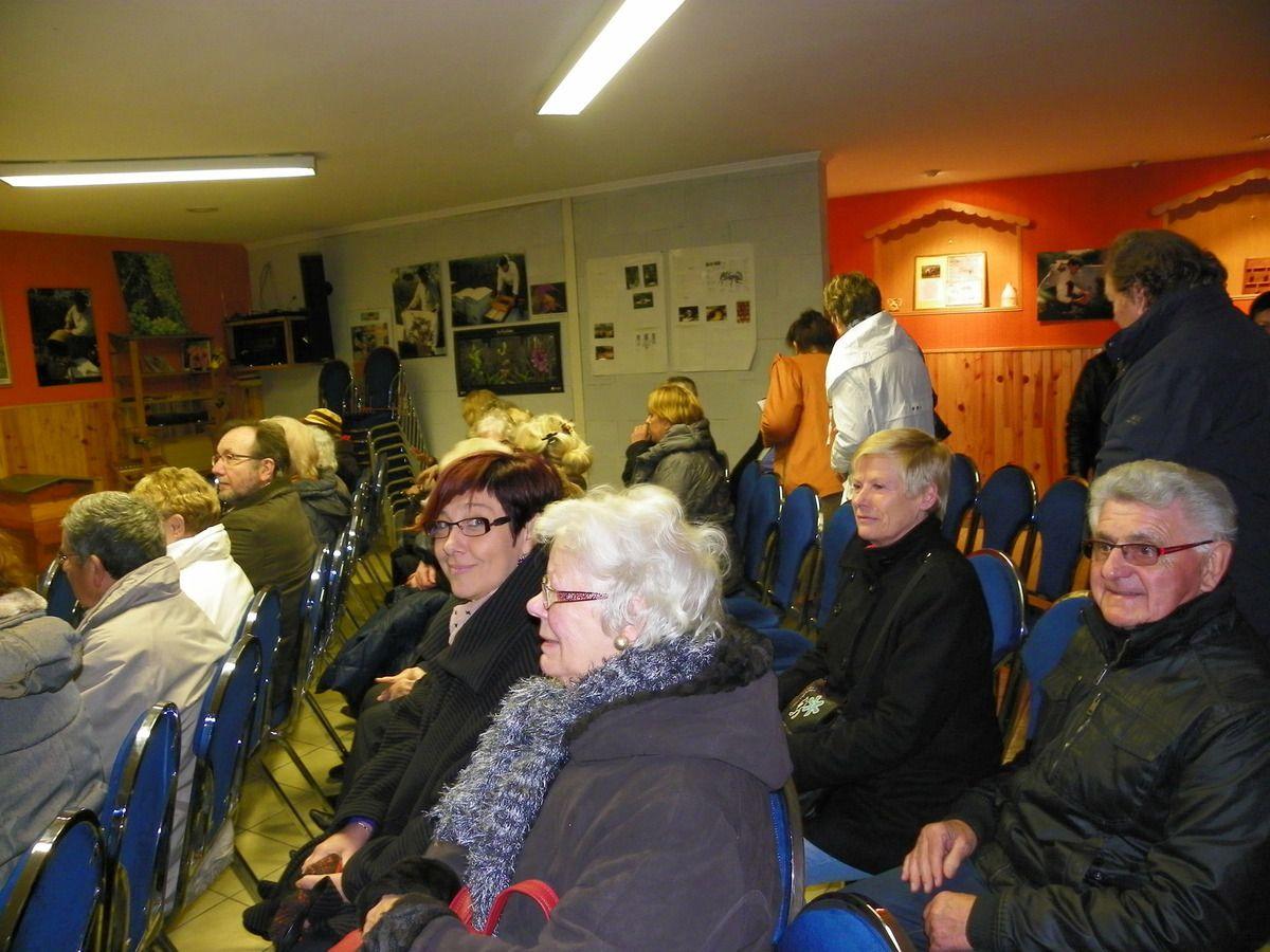 SORTIE DU JEUDI 19 MARS 2015 AU MUSEE VIVANT DE L'ABEILLE et VISITE  DU BARRAGE A POISSONS à AUCHY-les'HESDIN