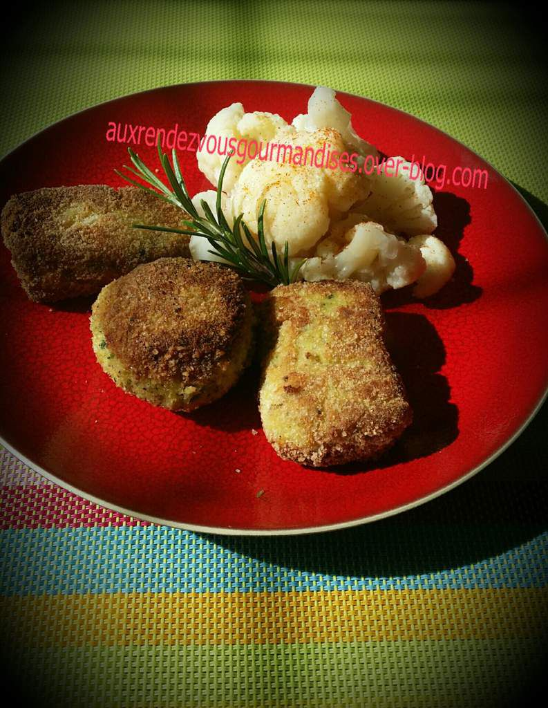 Croquettes de poisson curry courgette au Companion