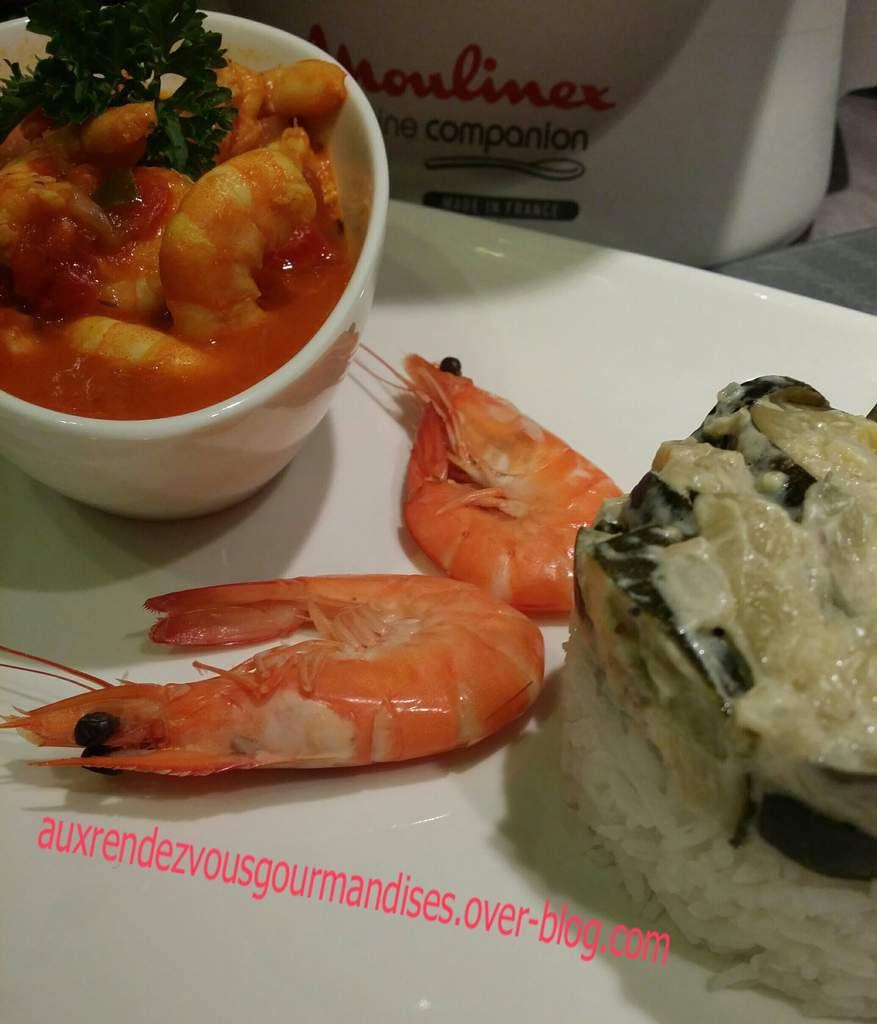 Crevettes à la créole avec ou sans Companion
