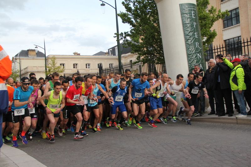 10 km EPERNAY PAYS DE CHAMPAGNE 2016