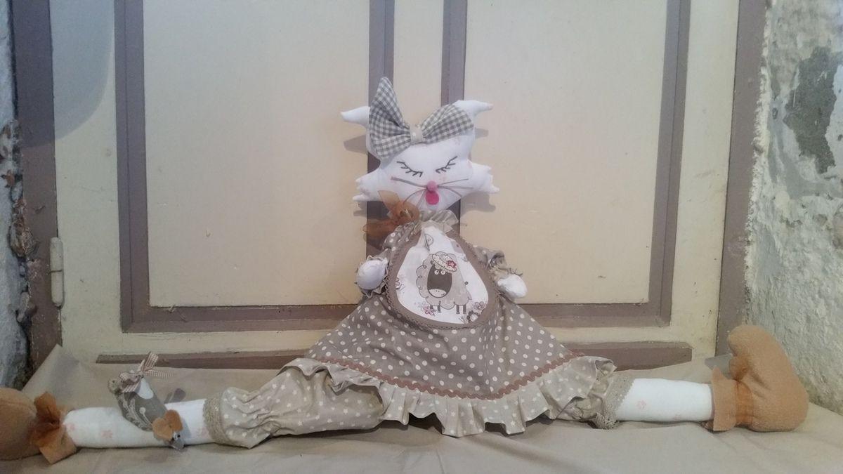 chat souris bloque porte la petite couture de mamounou. Black Bedroom Furniture Sets. Home Design Ideas