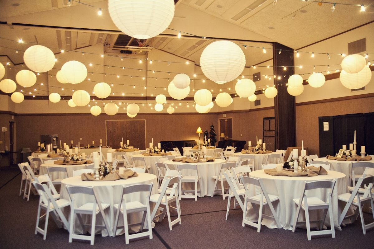 Quelle surface faut il pr voir pour votre salle de for Wedding reception room decoration ideas