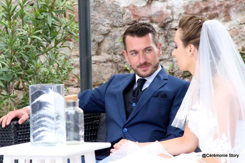 Cérémonie laïque de Julie et Sébastien à l'Hôtel des Hortensias de Barr  &quot&#x3B;Amour... et beauté...!&quot&#x3B;