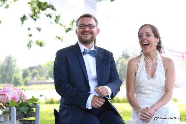 Marie et Edouard… au fil de l'eau !