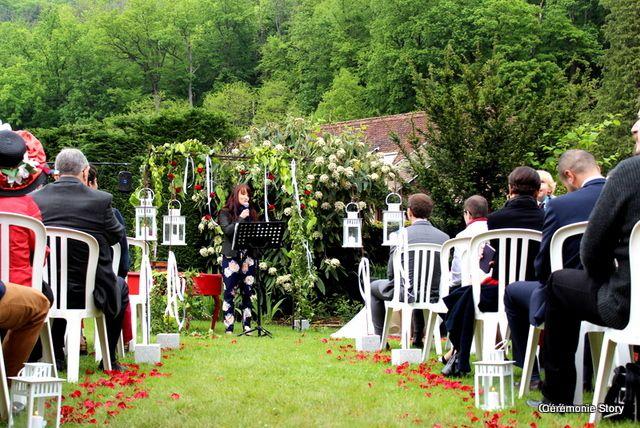 Cérémonie de mariage en Alsace : Audrey et Philippe