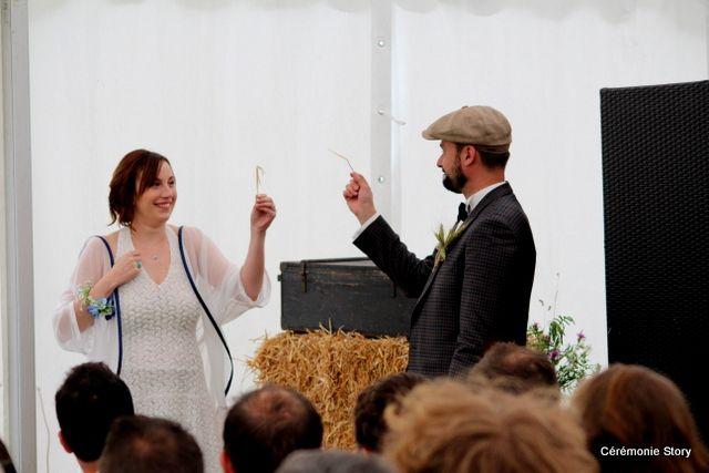 Aude et Nicolas, mariage nature, chic et vintage !