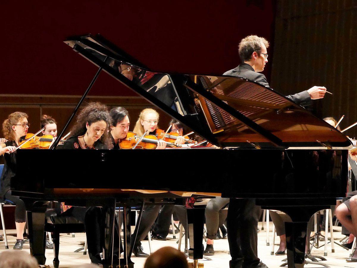 Concerto pour piano n°2 de Rachmaninov  Emmanuelle Bouillot et l'EOD, dirigé par Flavien Boy