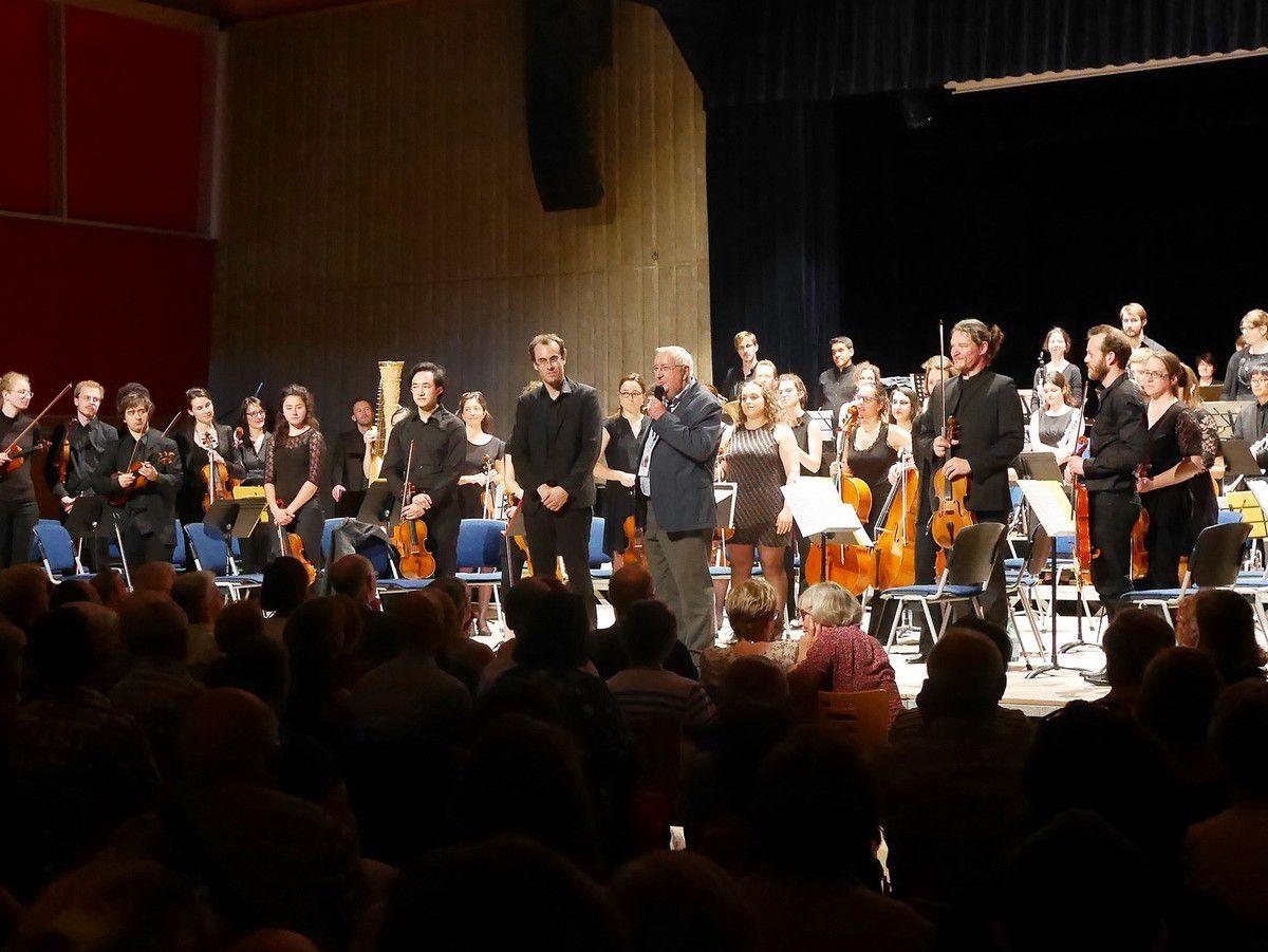 L' Ensemble Orchestral de Dijon dirigé par Flavien Boy