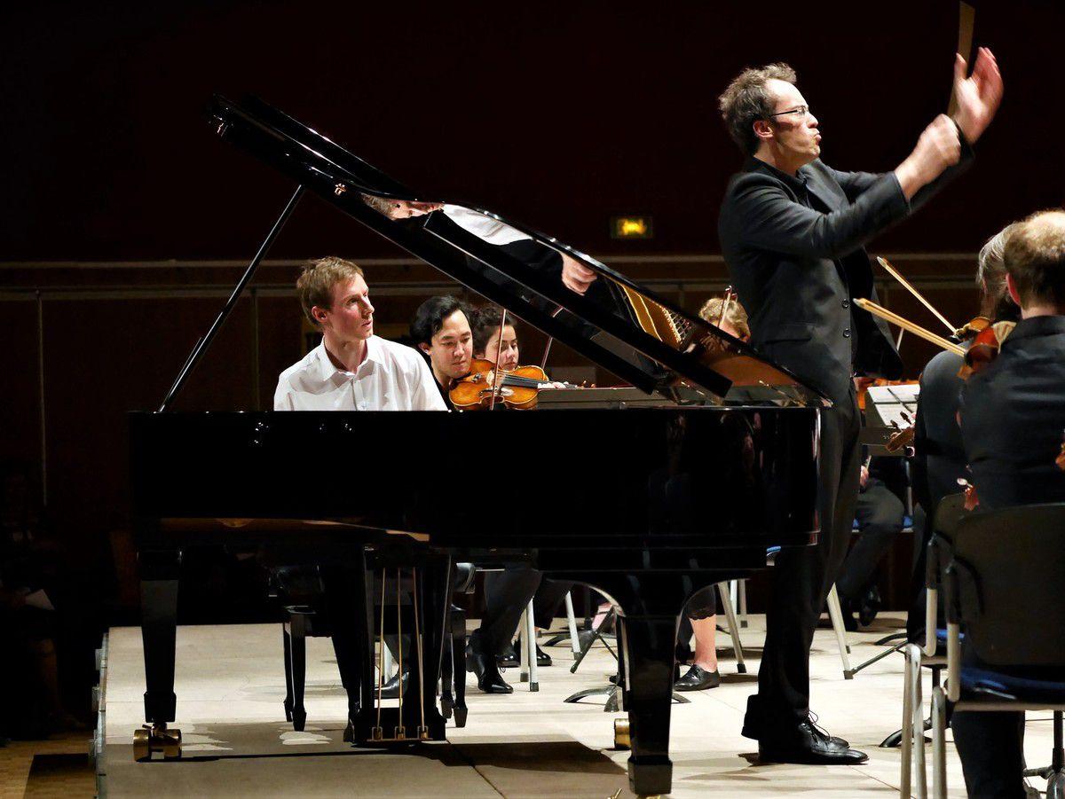 Concerto n°1 pour piano et orchestre de Tchaikovsky  Gaspard Dehaene et l'EOD