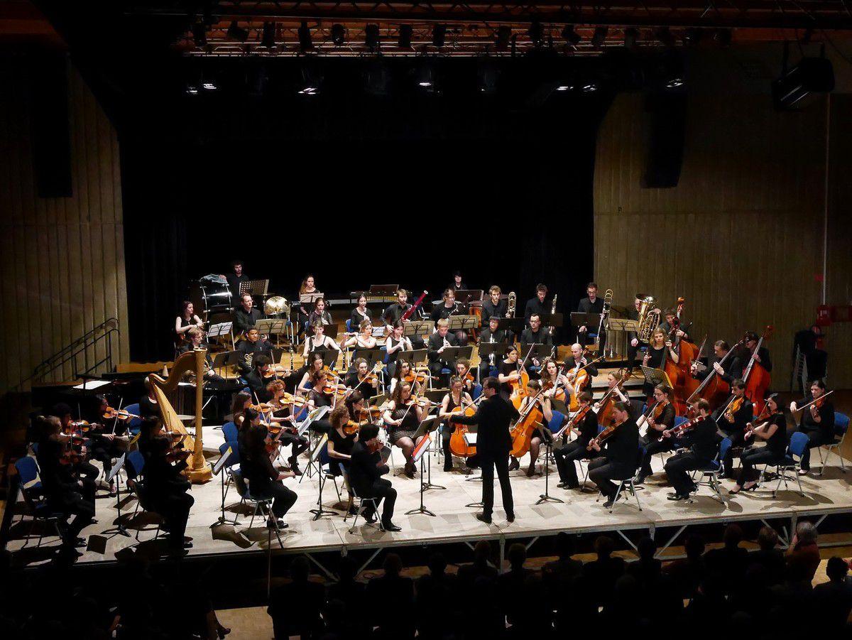 L'Ensemble Orchestral de Dijon au CAPJ de Fontaine-lès-Dijon