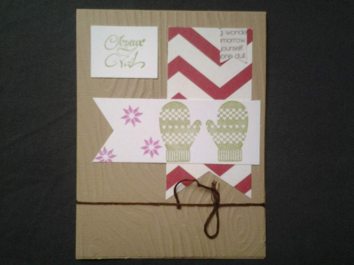 Cartes noel stampin'up 2