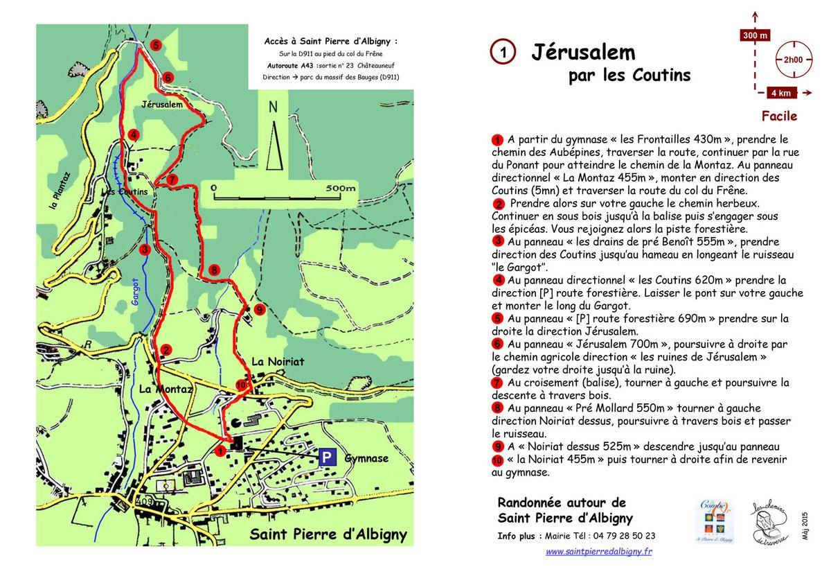 Les Chemins de Traverse St Pierre d'Albigny