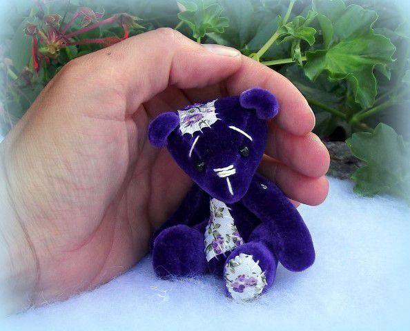Salamenke ours miniature / miniature artist bear
