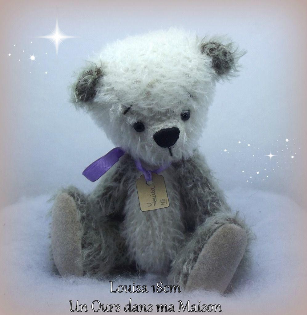 ours articulé mohair viscose / artist bear mohair