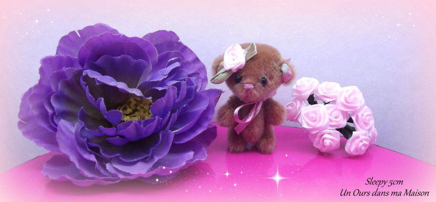 ours d'artiste miniature / artist miniature bear