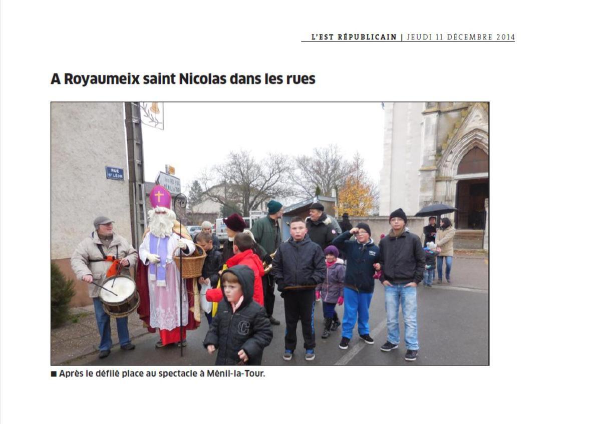 St Nicolas à Royaumeix (est répubicain)