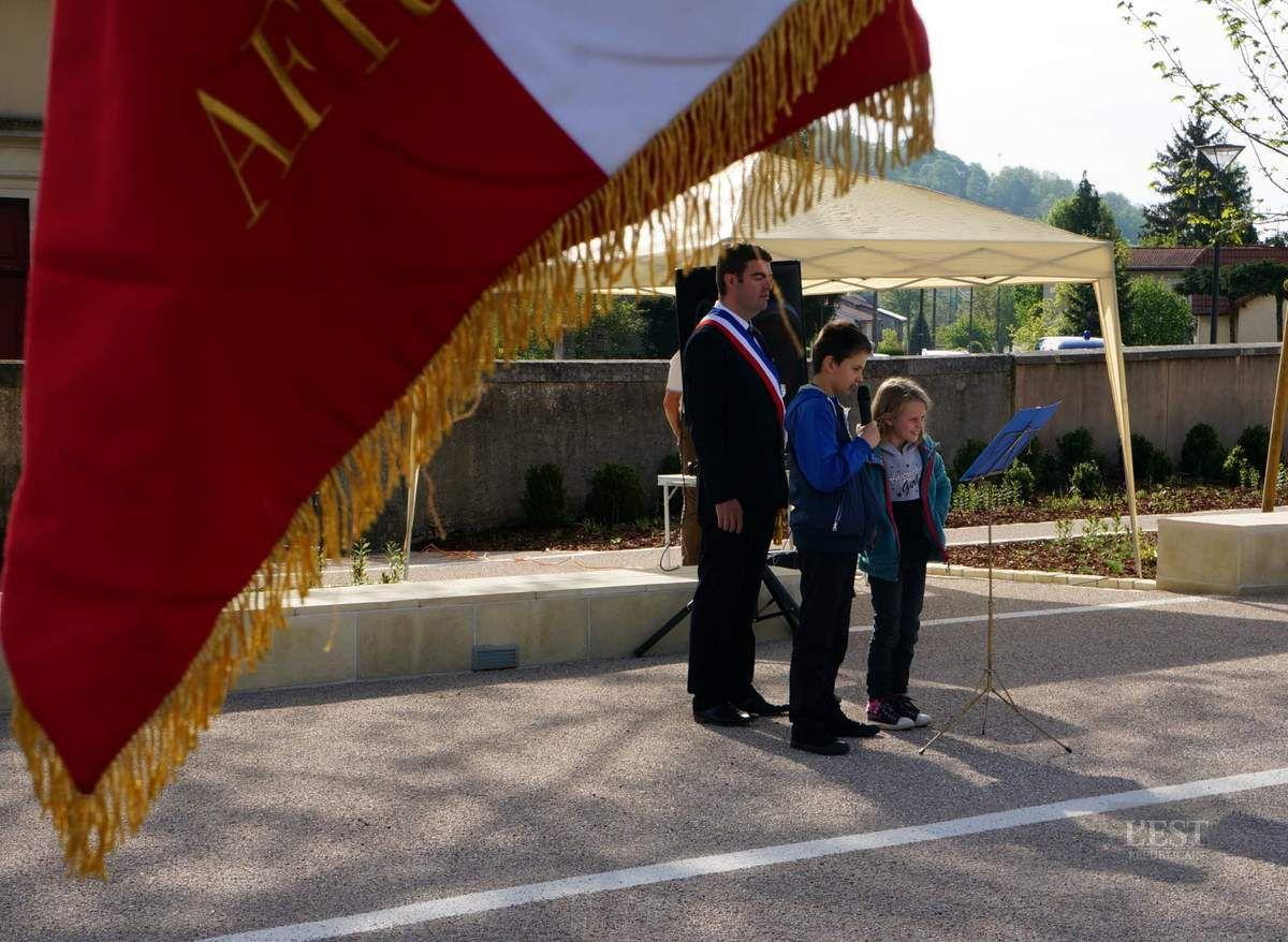 Les photos de l'est républicain de la cérémonie du 8 mai 2015 à Pagney derrière barine