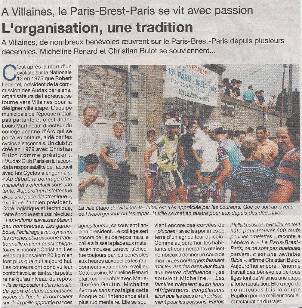 Le Courrier de la Mayenne du 20 aout 2015.