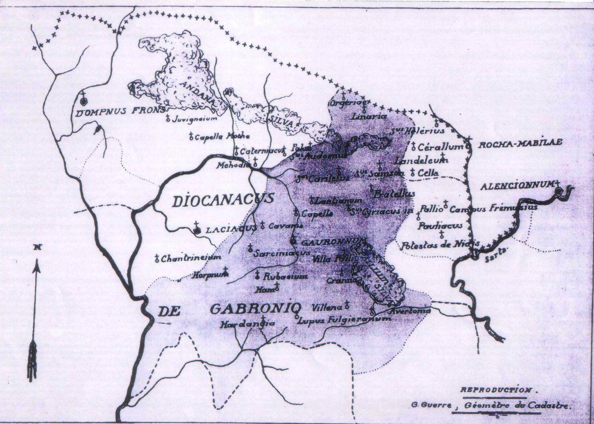 Anciennes cartes et anciens toponymes de notre région