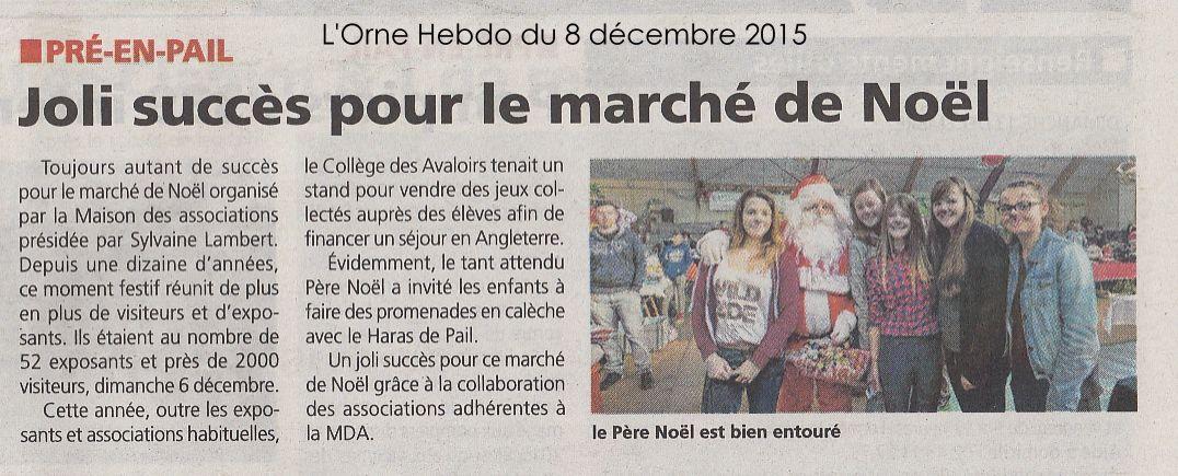 L'Orne Hebdo du 8 décembre 2015.