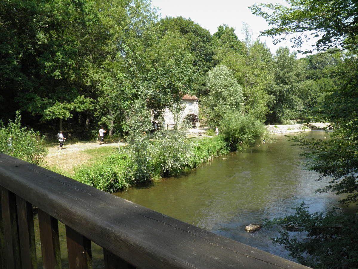 Le moulin de Trotté.