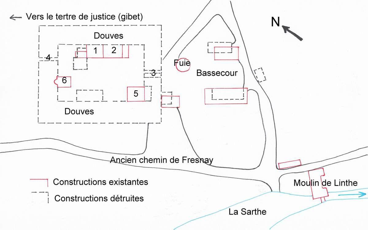 Le manoir de Linthe à Saint-Léonard-des-Bois