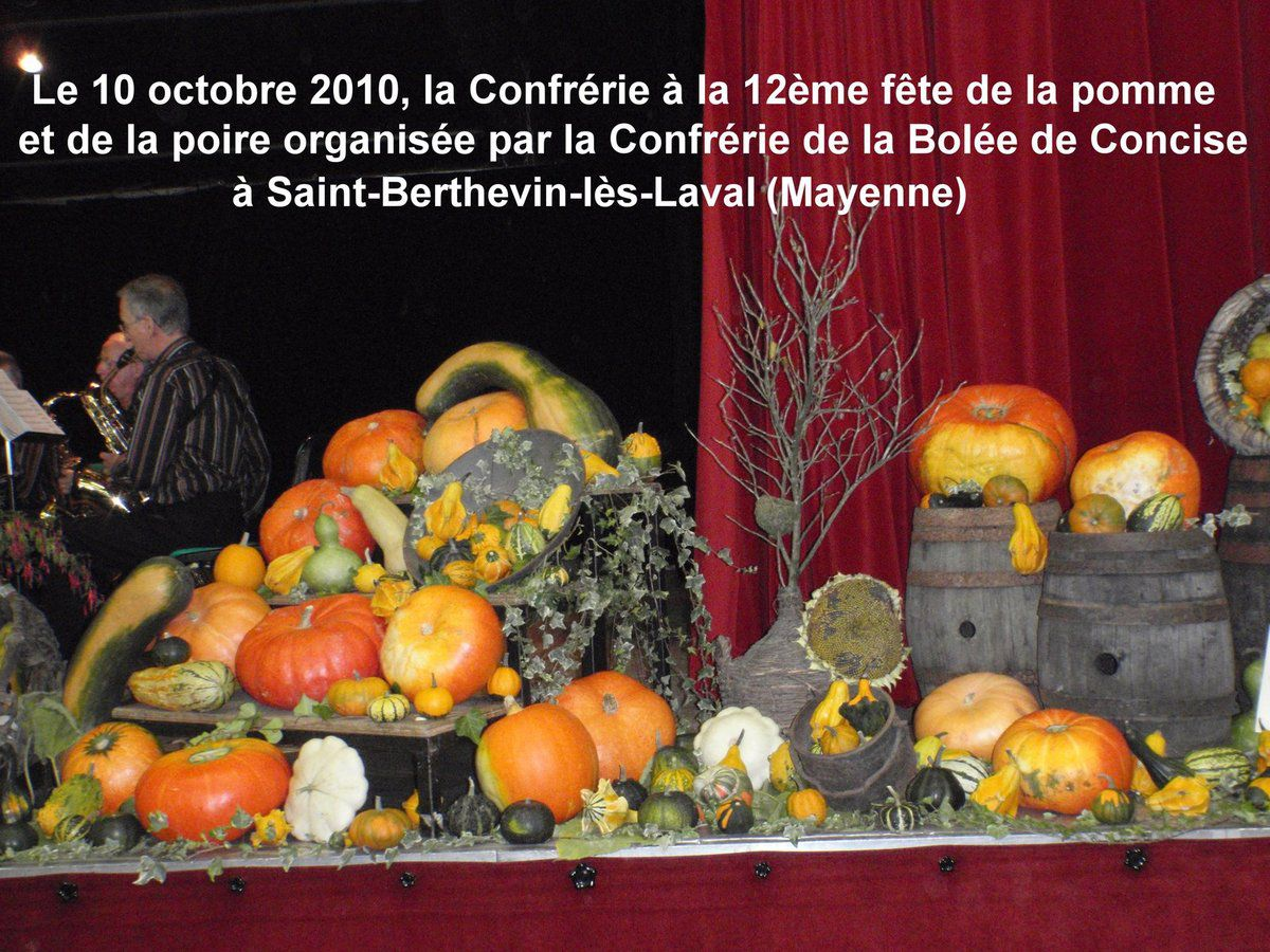 10 octobre 2010 : Saint-Berthevin