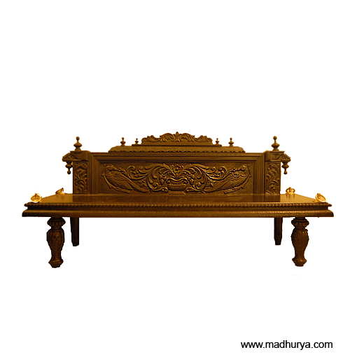 Jhula With Carved Back Rest Bench Cum Swing Shopping At