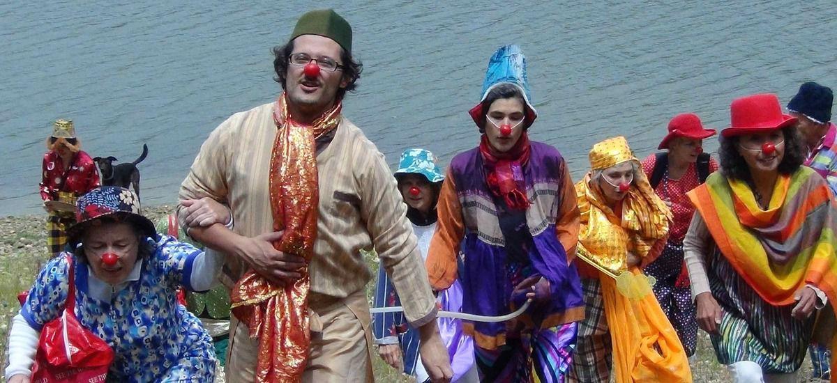 Jamais sans mon clown. Stage. Montauban.Du 8 au 12 Aout 2016.