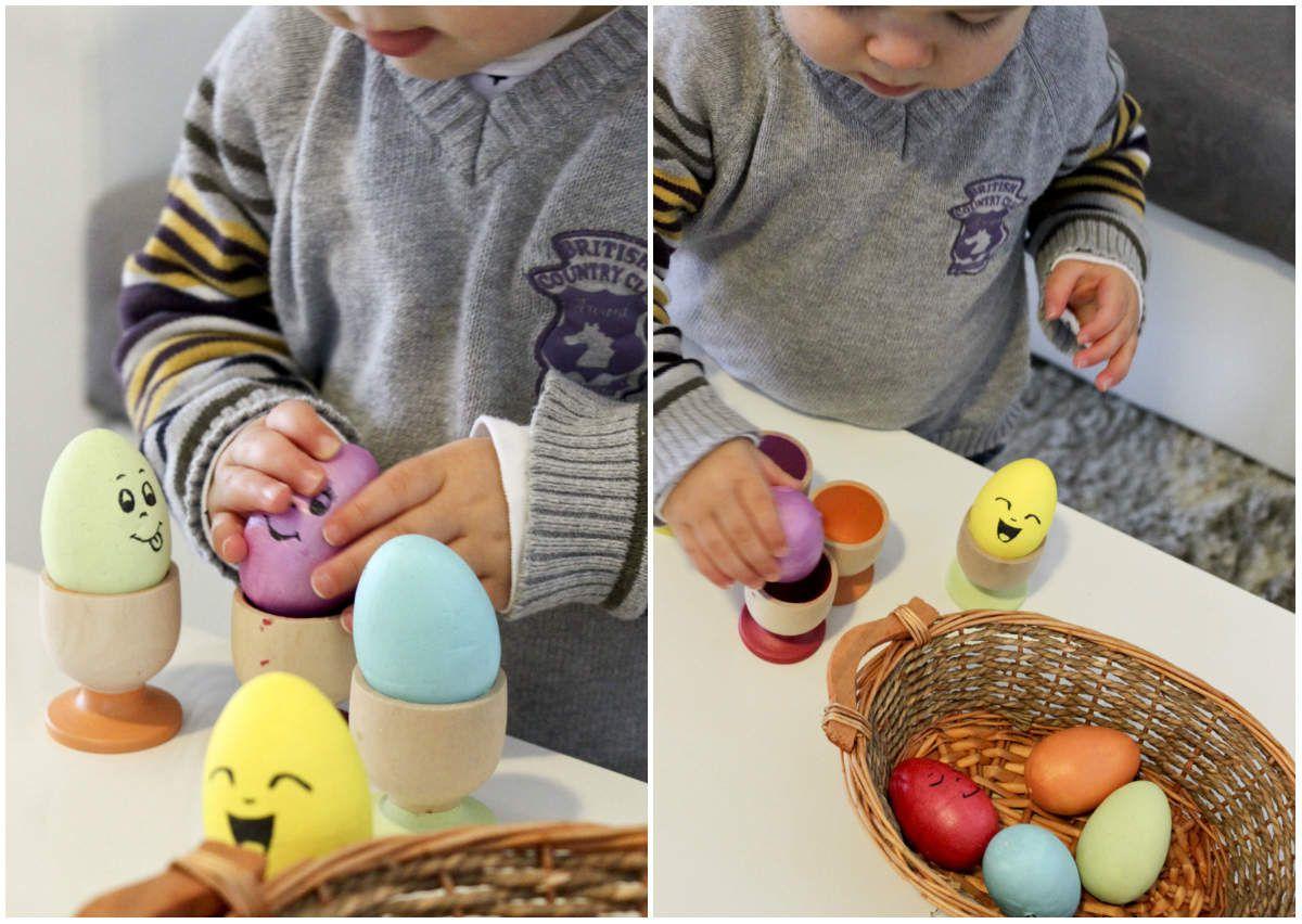Activité d'éveil spéciale Pâques {inspiration Montessori}