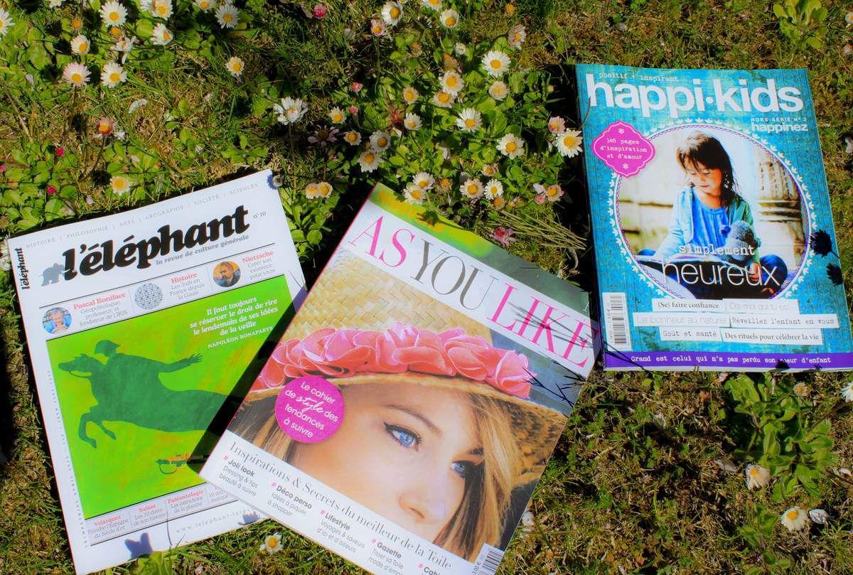 Un printemps où fleurissent de beaux magazines!
