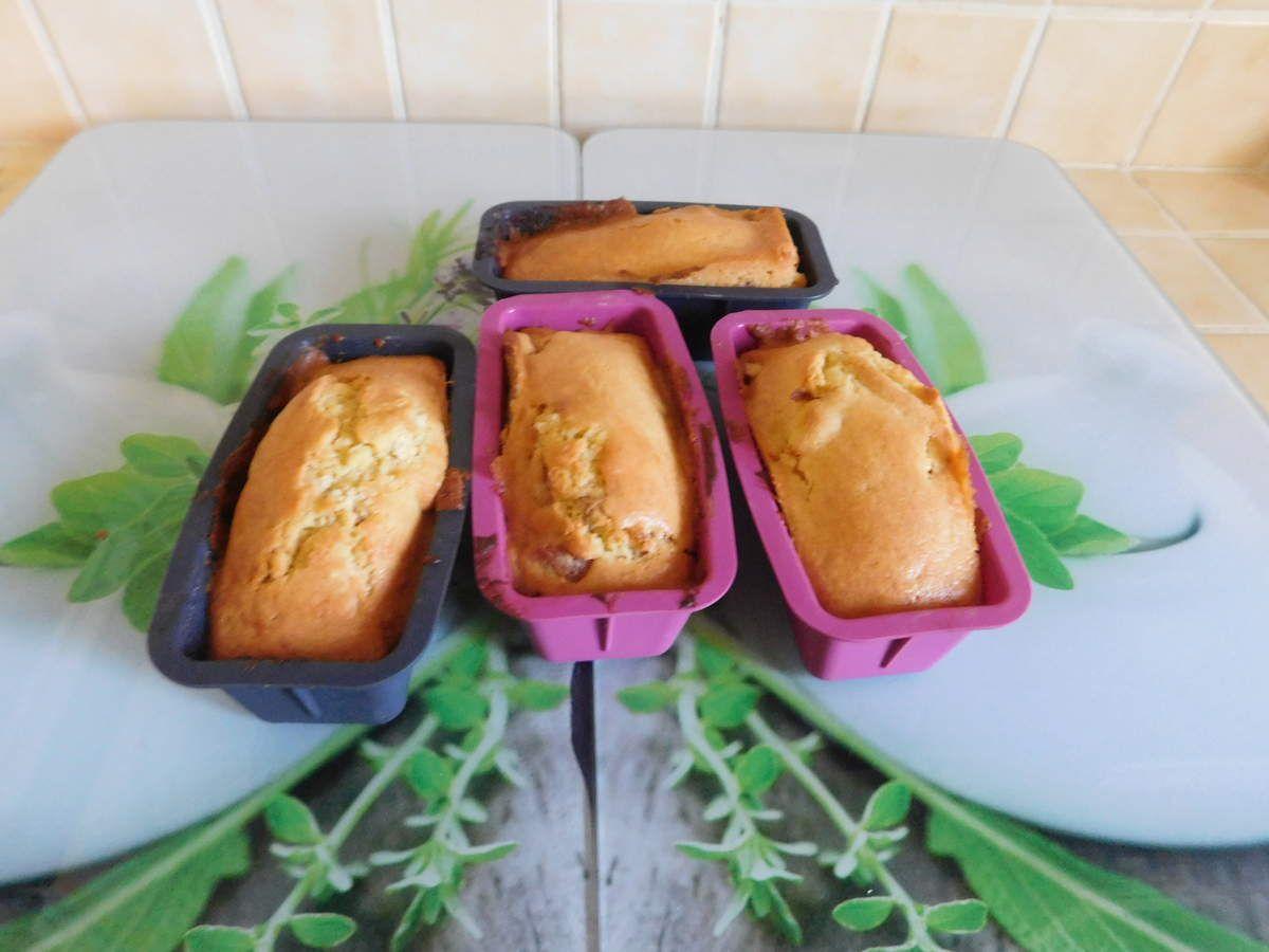 Mini cakes aux abricots secs