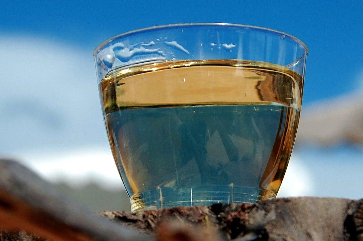 Un verre du muscat aussi avec modération.