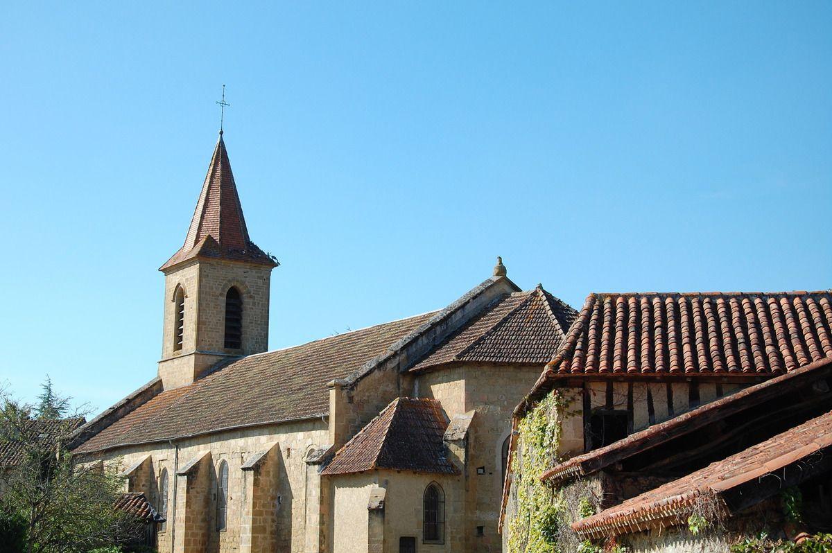 Une dernière vue sur l'église.