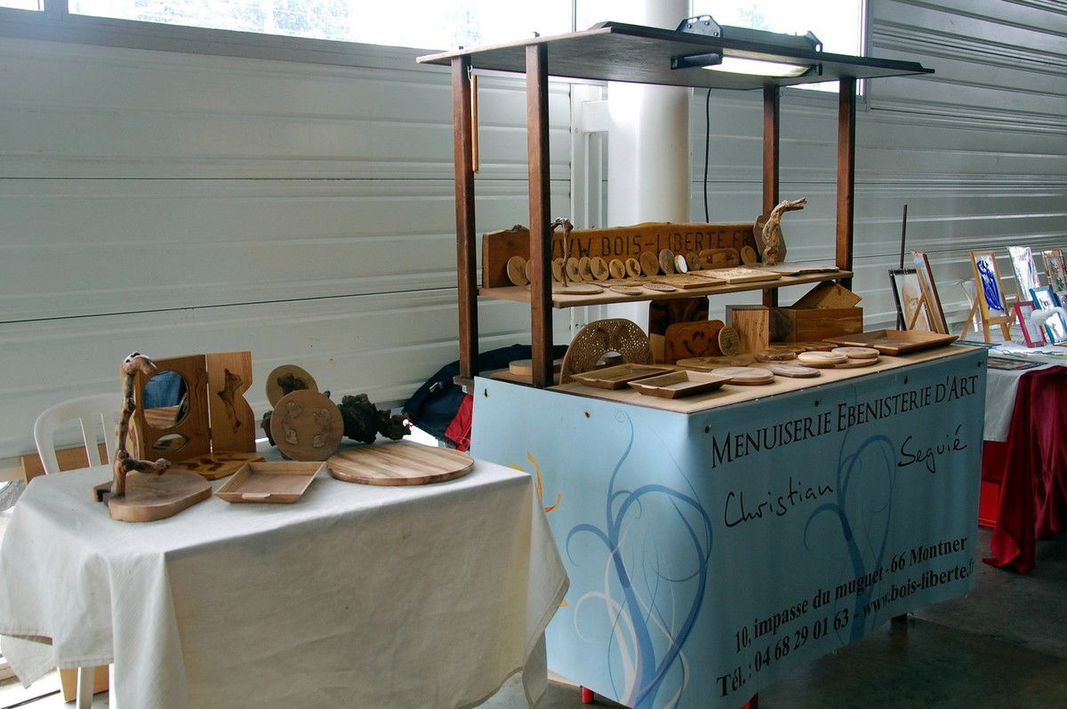 Mon stand et ma table
