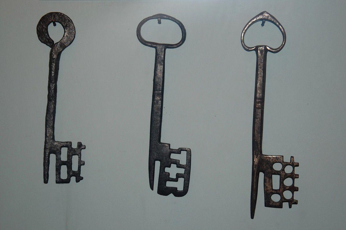 De belles clés anciennes.