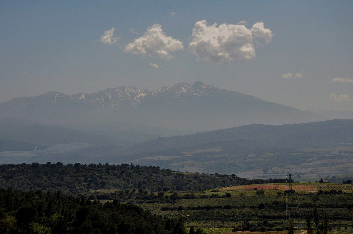 Direction le Canigou
