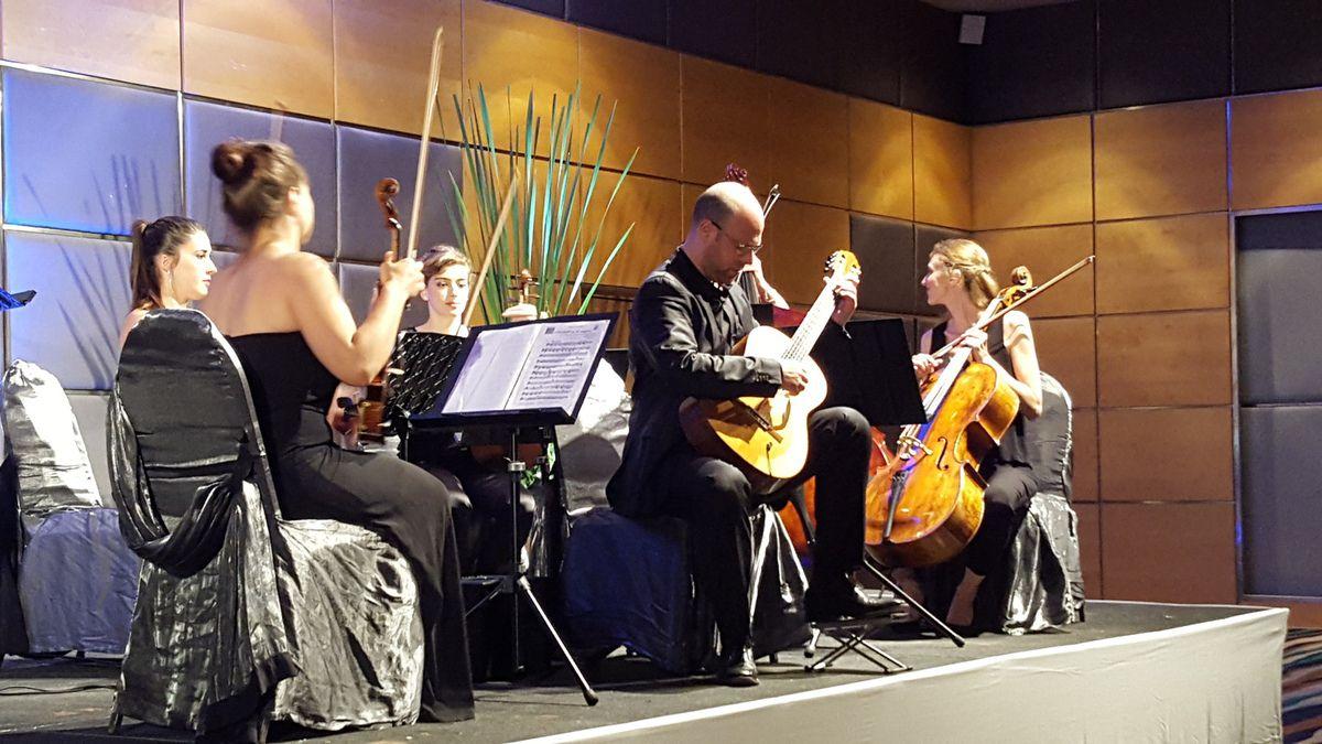 """Au programme 'les Mozarts de Toulouse"""" et Philippe Mouratoglou."""