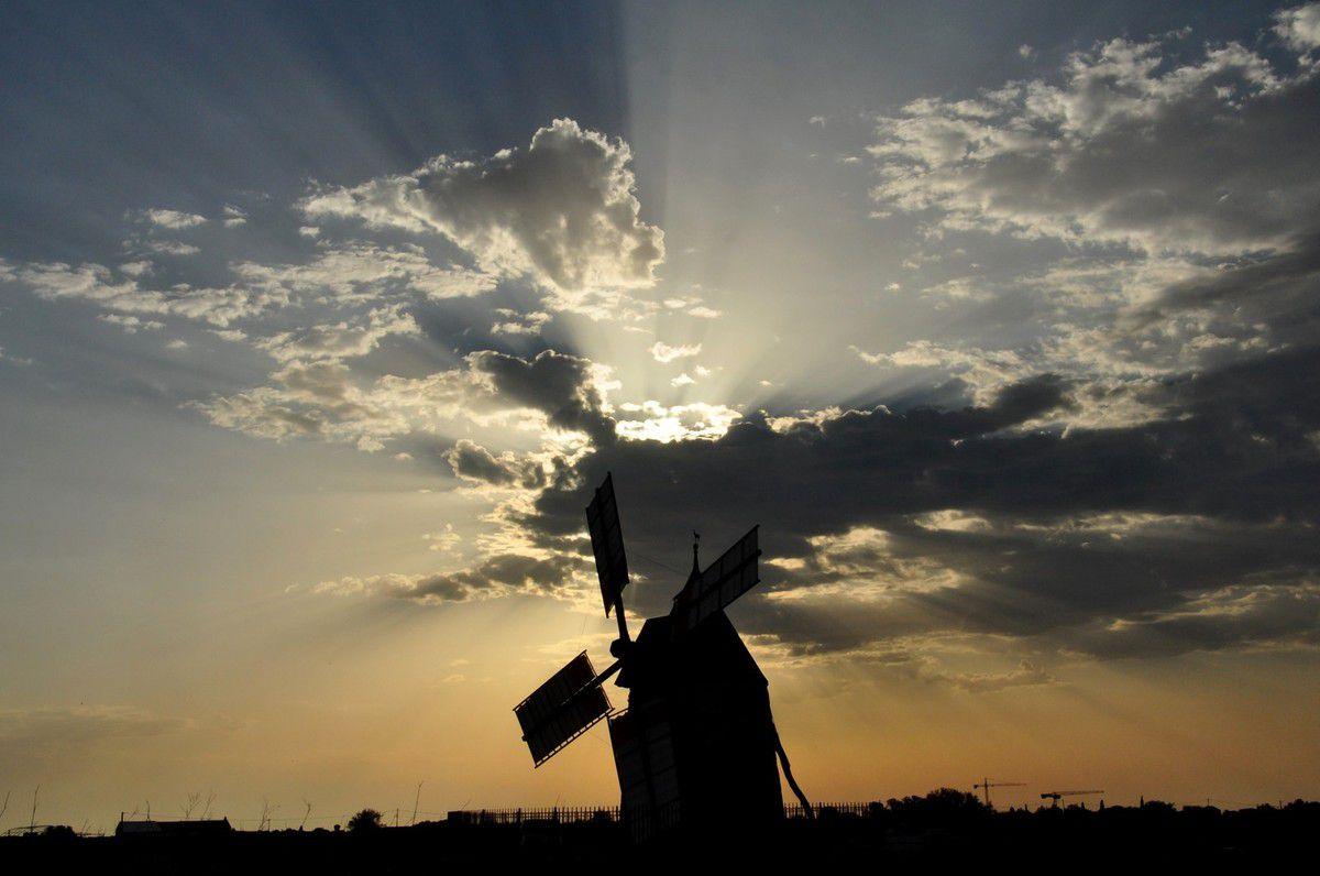 Le moulin de Claira.