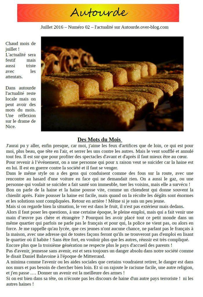 Première page.